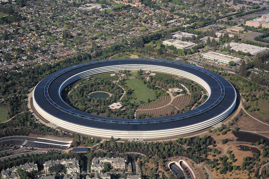 Apple HQ in California is a real tech donut