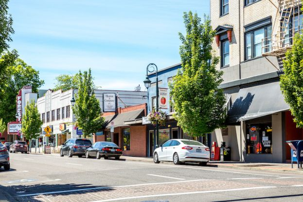Historic, walkable downtown Forest Grove