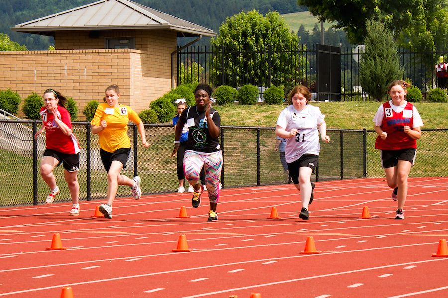 Special Olympics Oregon's summer regional competition in Newberg